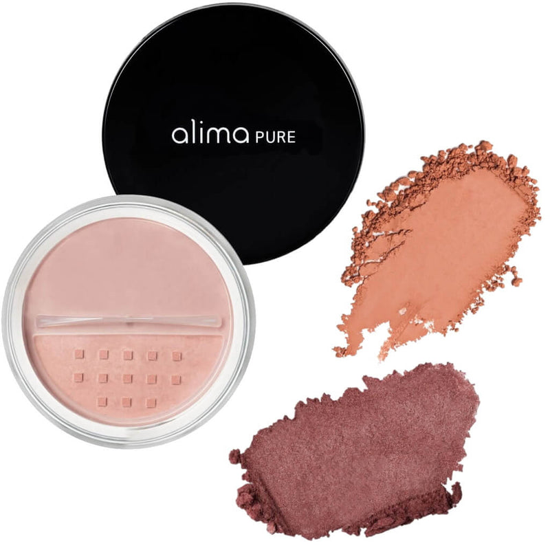 Alima Pure Blush Satin Mat / Satin Matte Swatches