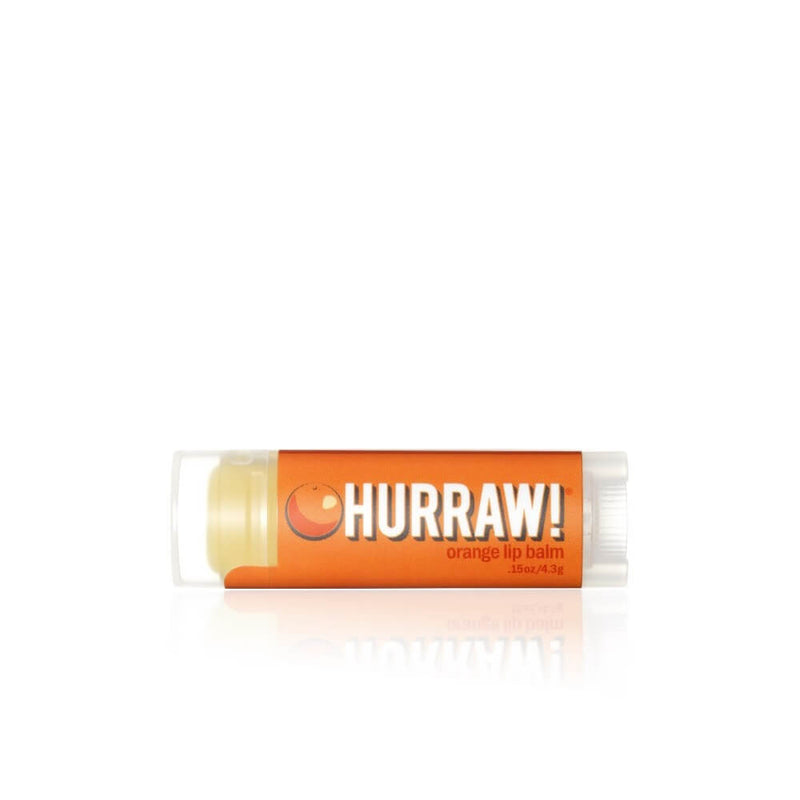 Hurraw Baume à Lèvres Orange / Orange Lip Balm