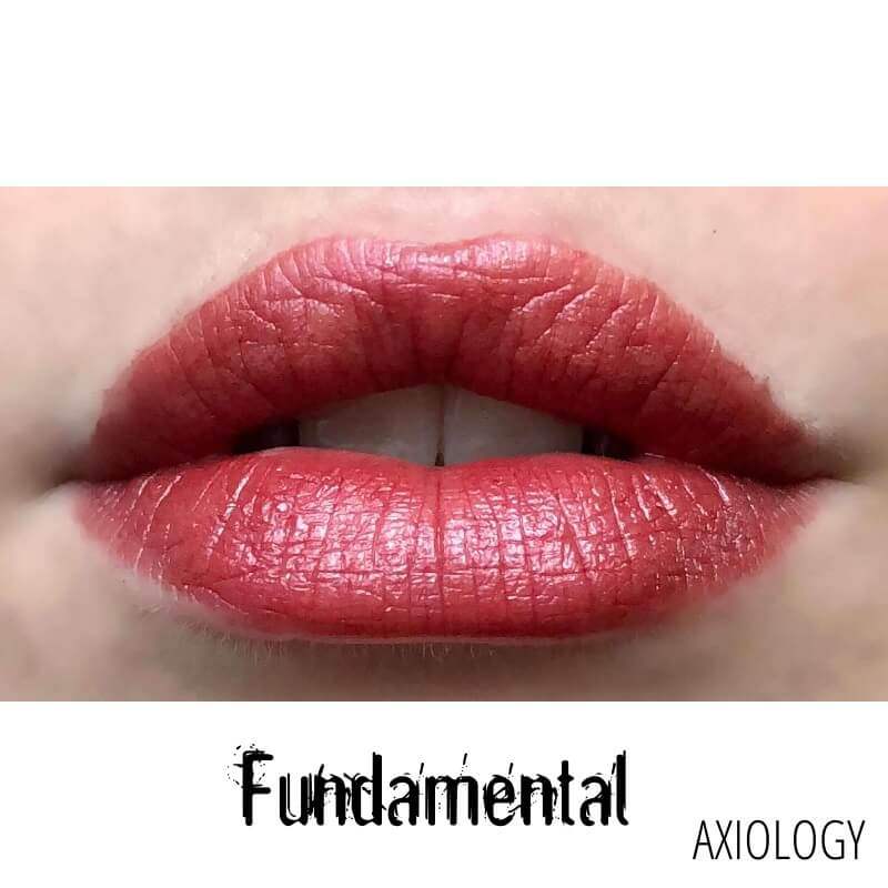 Axiology Rouge à Lèvres Soft Cream Swatch Fundamental