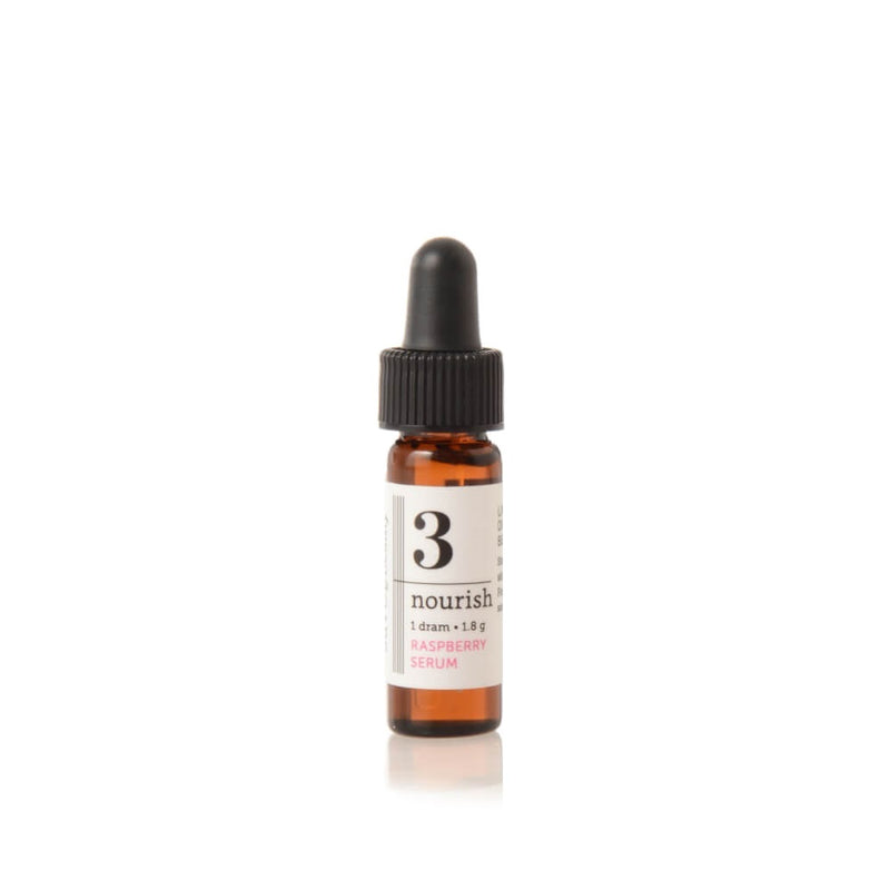 Savor Beauty Raspberry Nourish Serum Travel Size with natural SPF