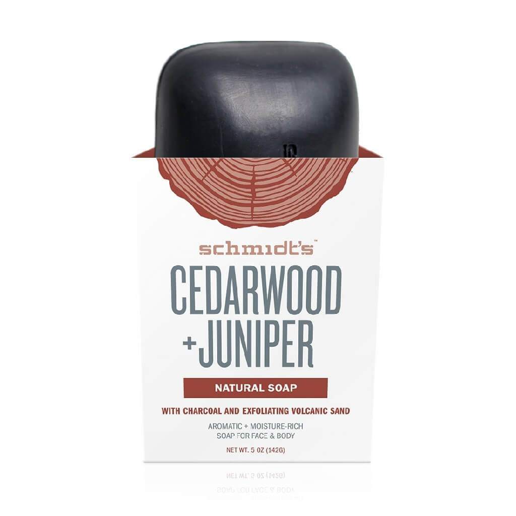 Schmidt's Natural Cedarwood Juniper Soap