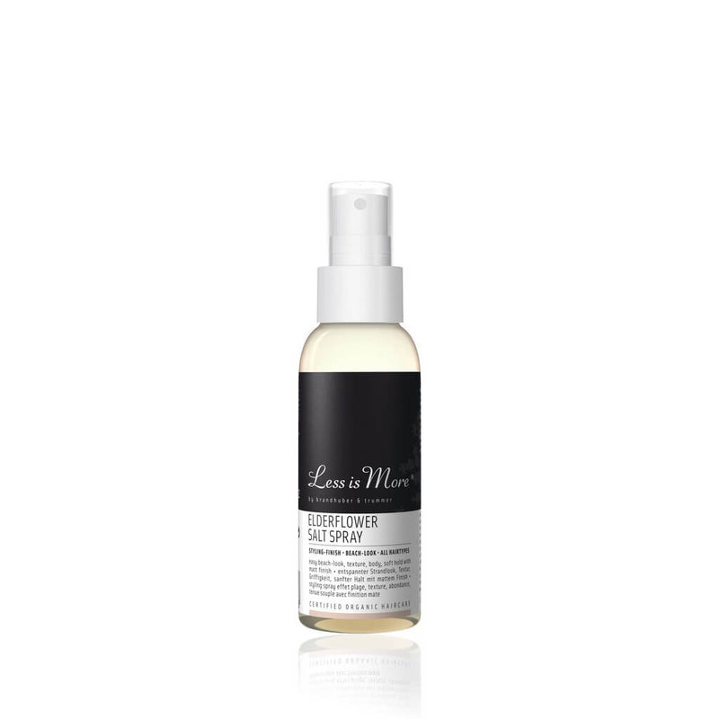 Less Is More Elderflower Salt Spray Texturant Taille Voyage