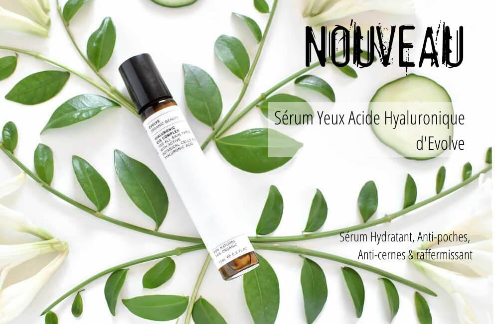 New : Contour de Yeux Acide Hyaluronique Evolve