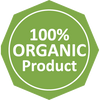 100% Organic Product Label