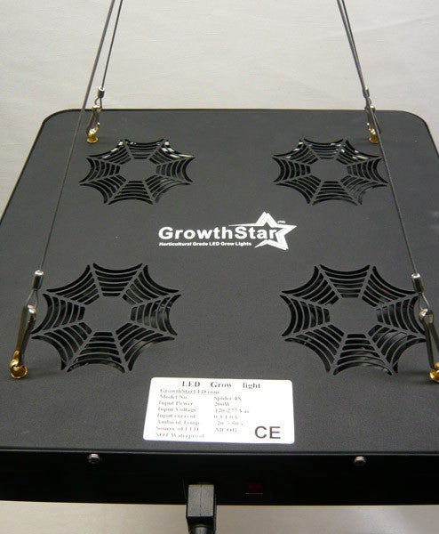 Growthstar Spider 4X 200W COB LED Grow Light