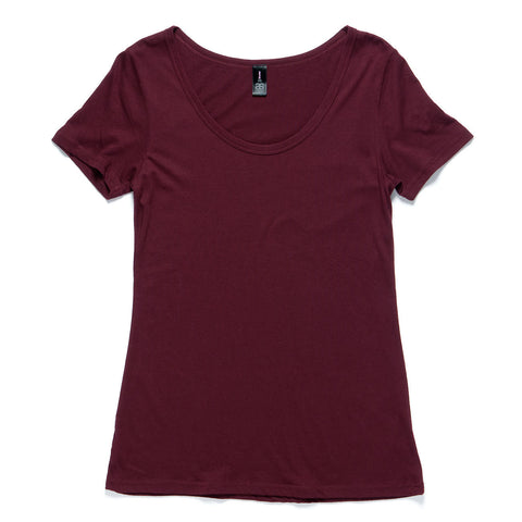 Cotton & modal blend women's tee - The Apparel Effect