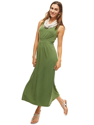 Bamboo and cotton maxi dress |Sizes 8 to 22 - The Apparel Effect