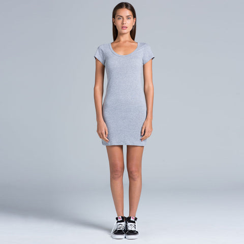 Short tee dress in various colours - The Apparel Effect
