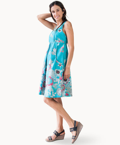 100% cotton floral print sundress - The Apparel Effect
