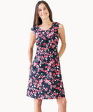 100% cotton hummingbird print dress - The Apparel Effect