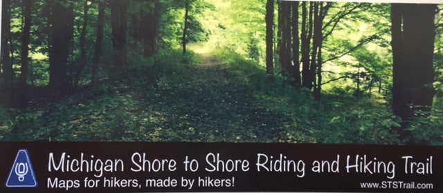 Michigan Shore to Shore Trail Maps