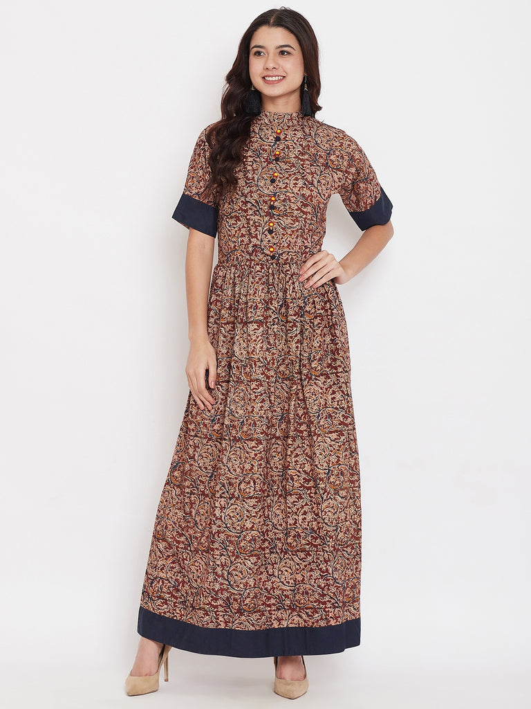 Kalamkari Maxi Dress
