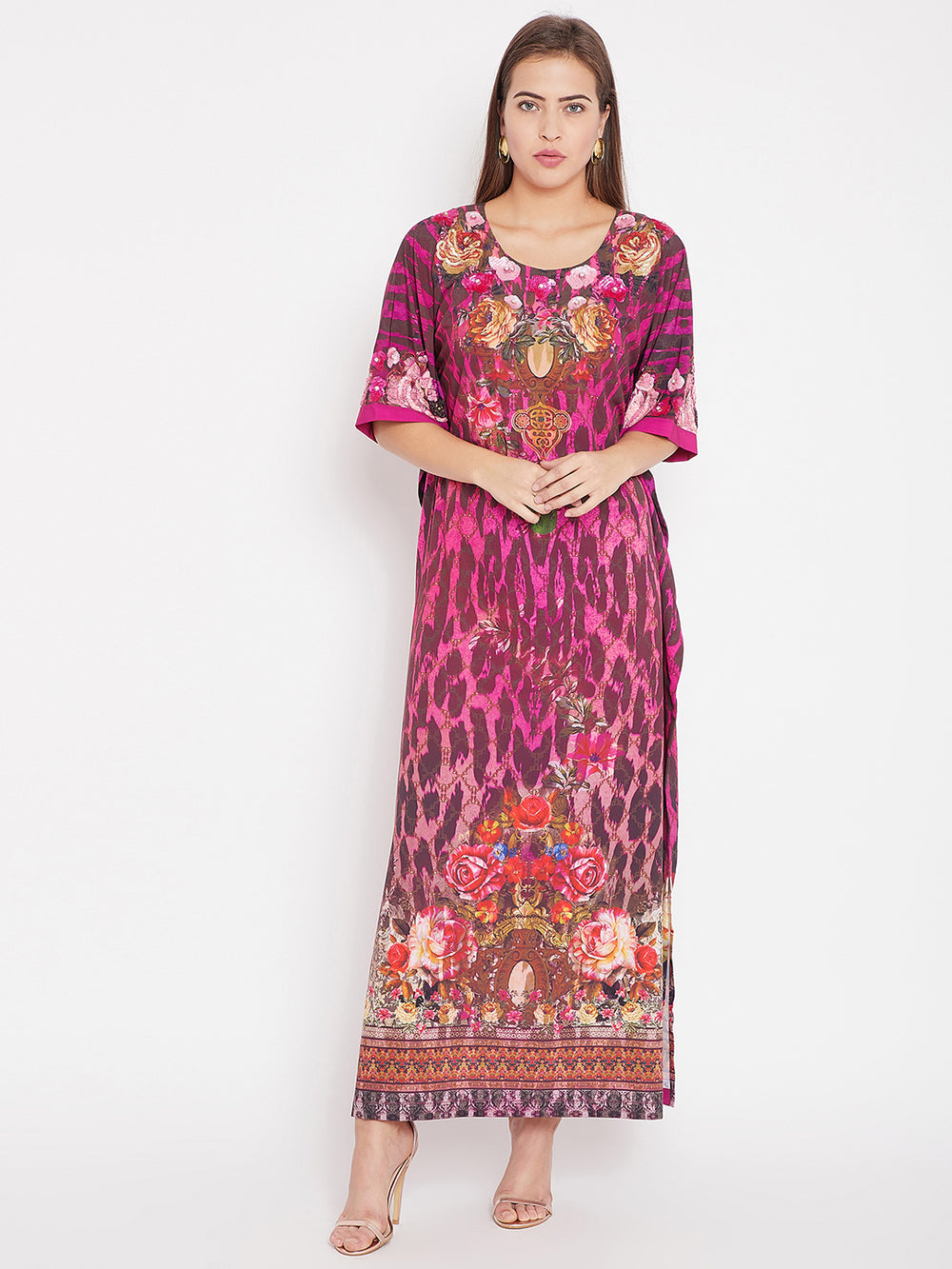 Dazzled Flora Serengeti Maxi Dress