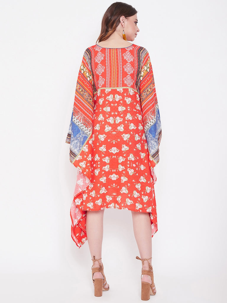 Boho Beauty Printed Kaftan Dress