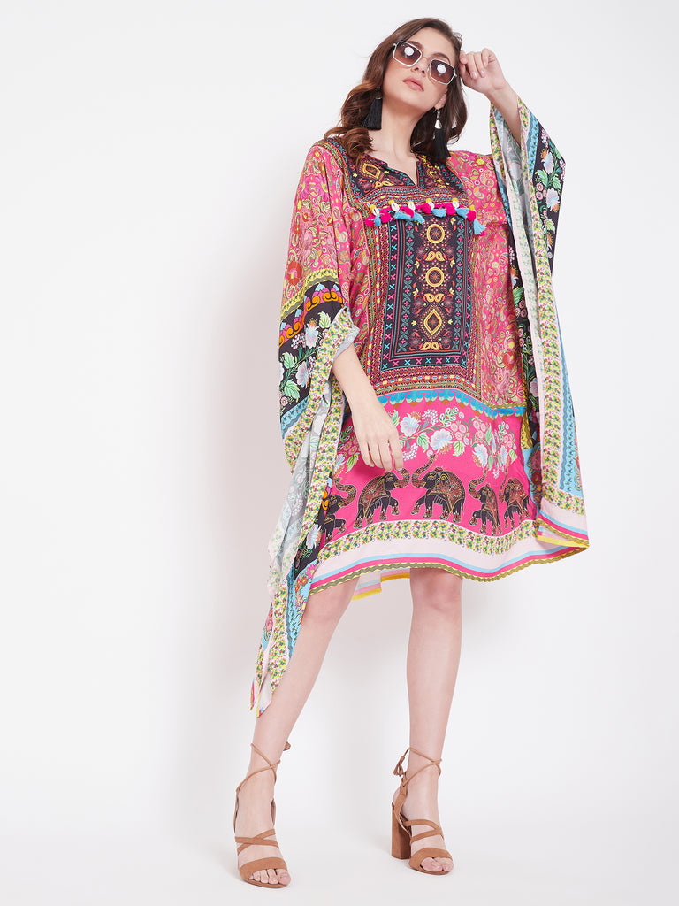 Beyond Borders Boho Kaftan Dress