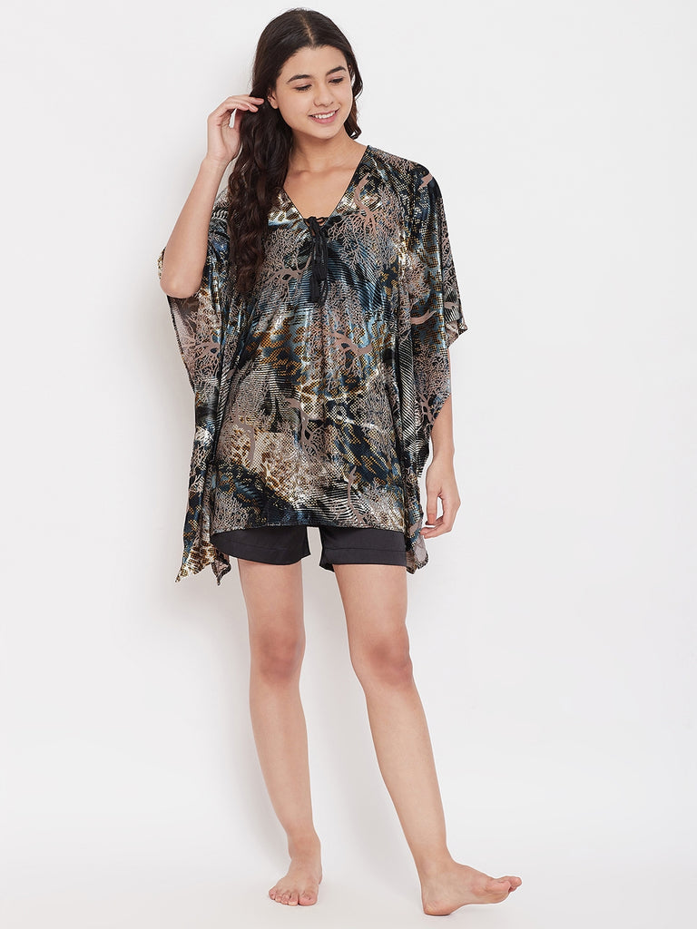 Velverine Kaftan Shorts Set