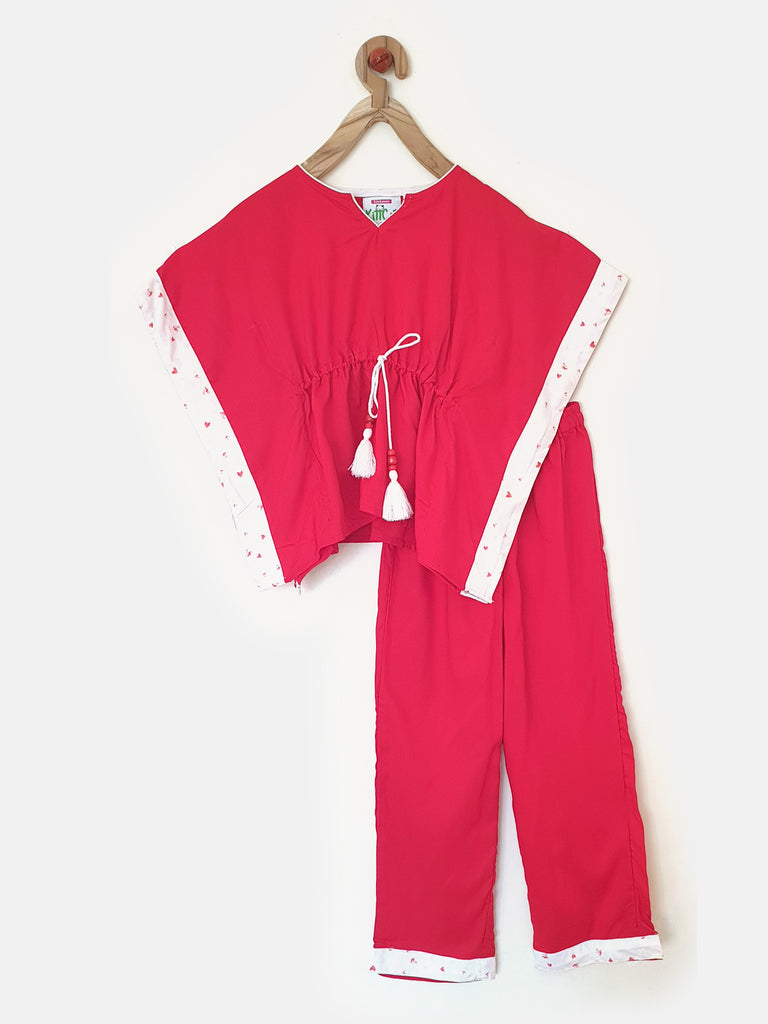 Scarlet Dreams Girls Pyjama Set