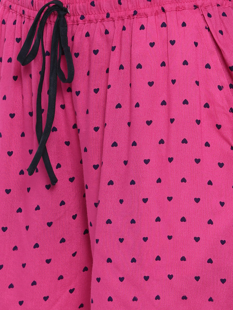 Little Hearts Fuschia Lounge Set