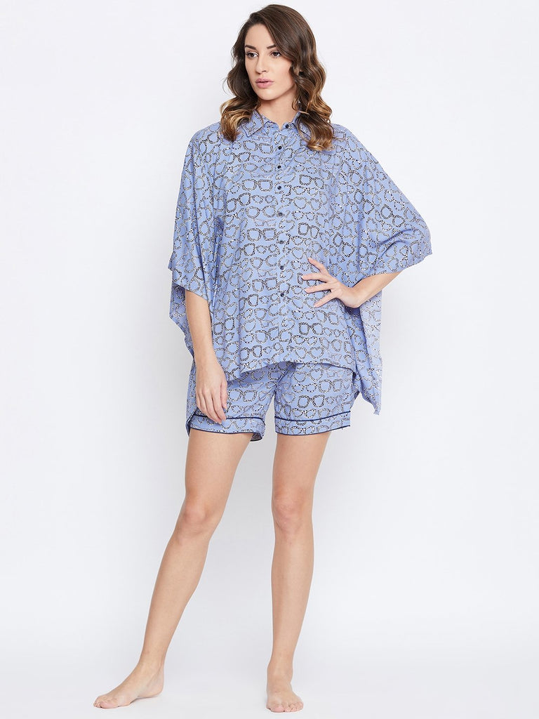 QUIRK APPEAL KAFTAN SHORTS SET