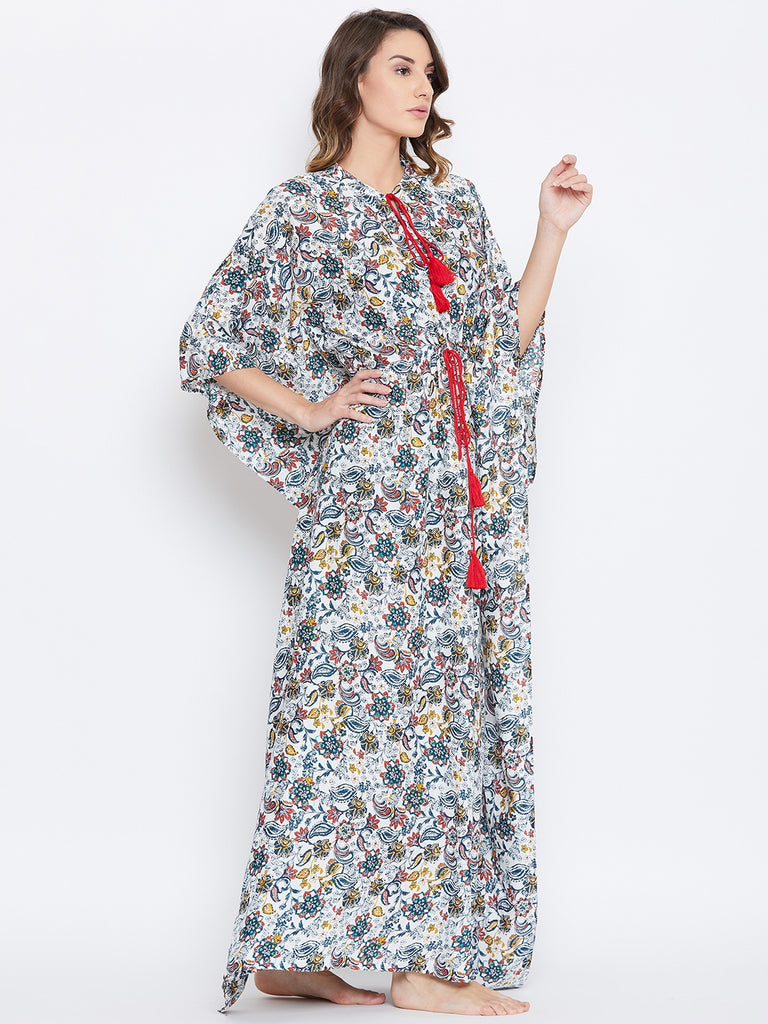 VAN JUNGLE LOUNGEWEAR KAFTAN