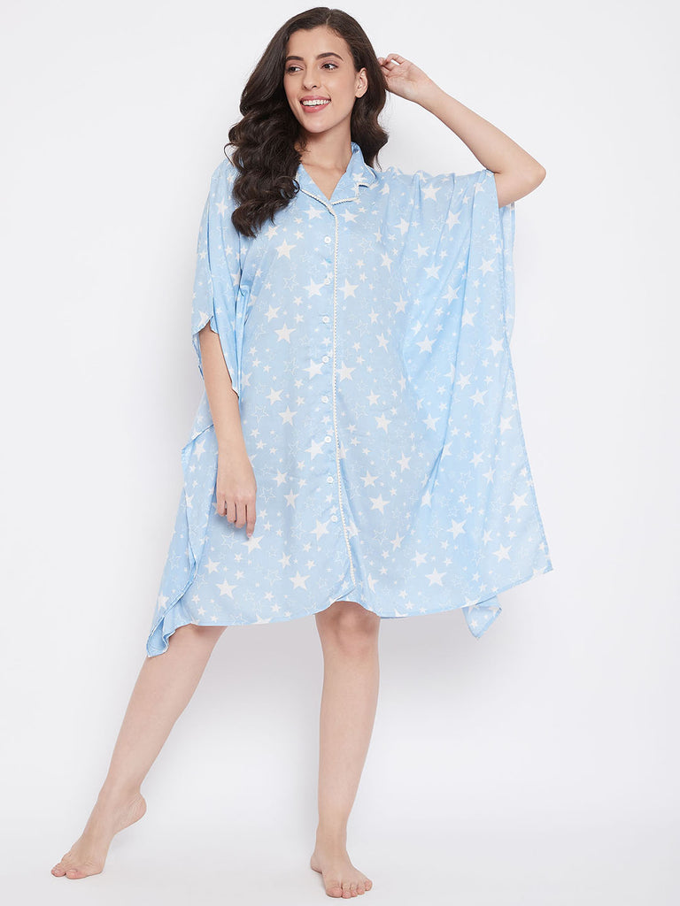 Starry Night Kaftan Sleepshirt