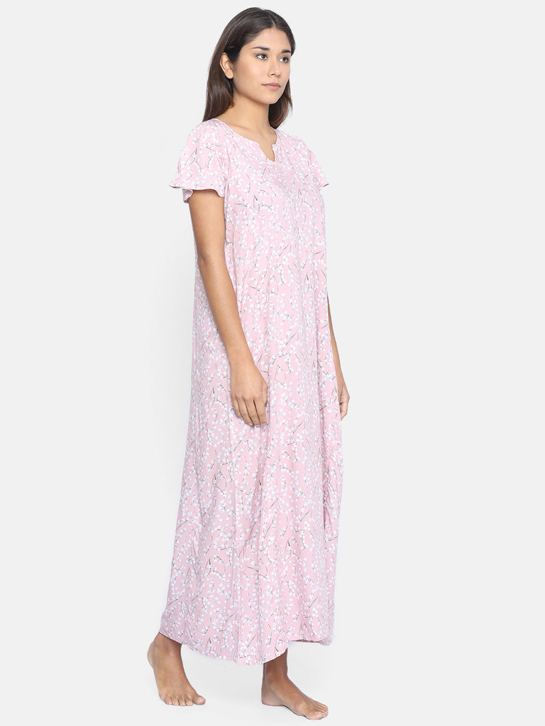 PRETTY FLORA NIGHTDRESS