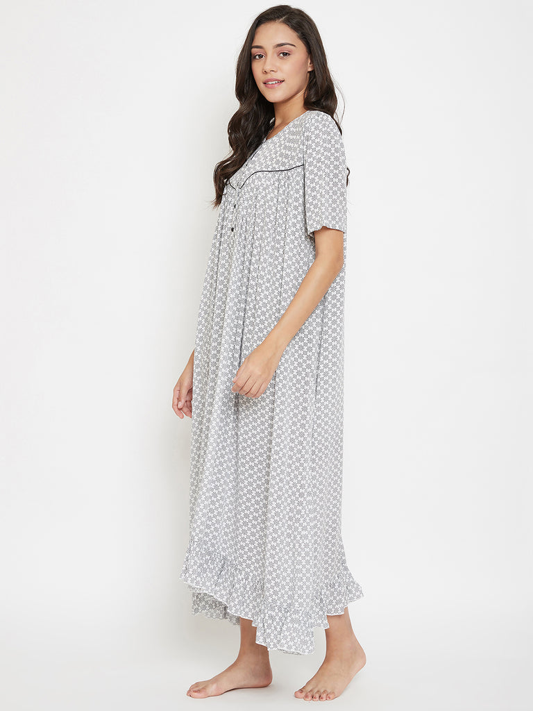 Monochrome Motifs Nightdress