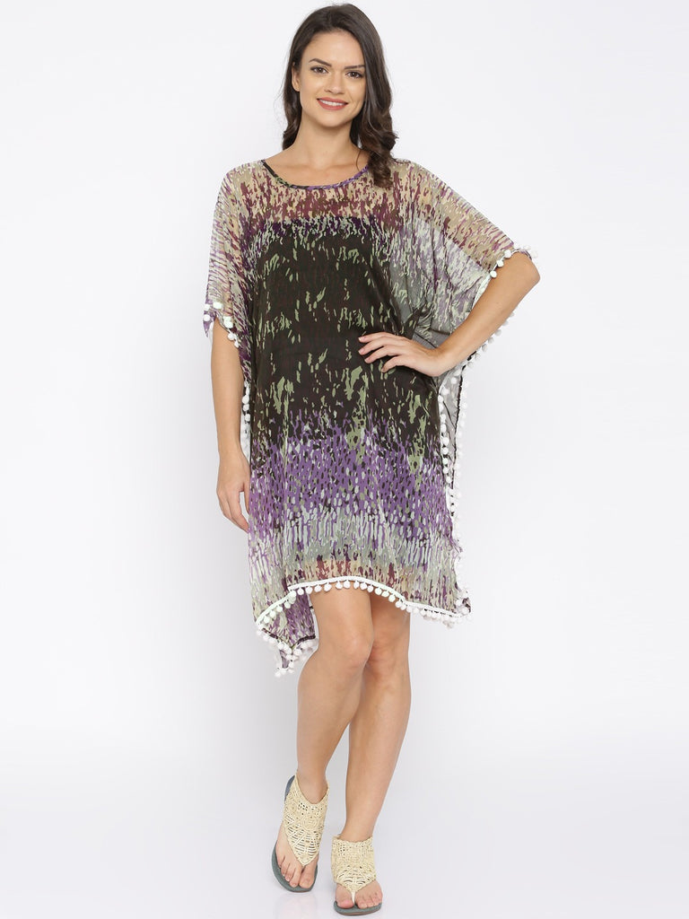 Printed Resortwear Kaftan Cover-Up