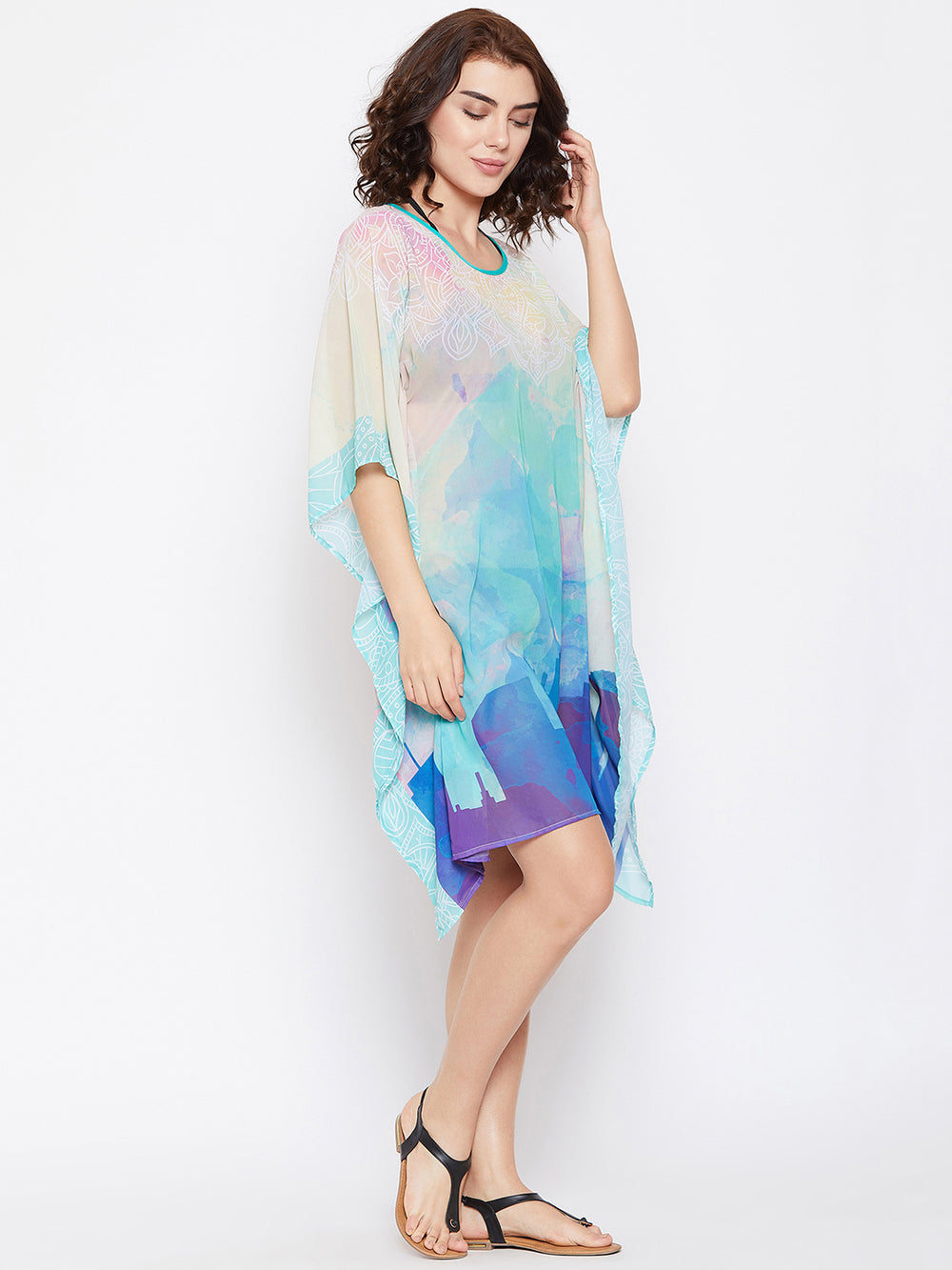 CITY SCAPE BEACH COVERUP