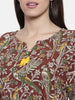 The Kaftan Company Deep In the Woods Kalamkari Top