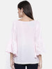 The Kaftan Company Pink Blush Schiffly Top