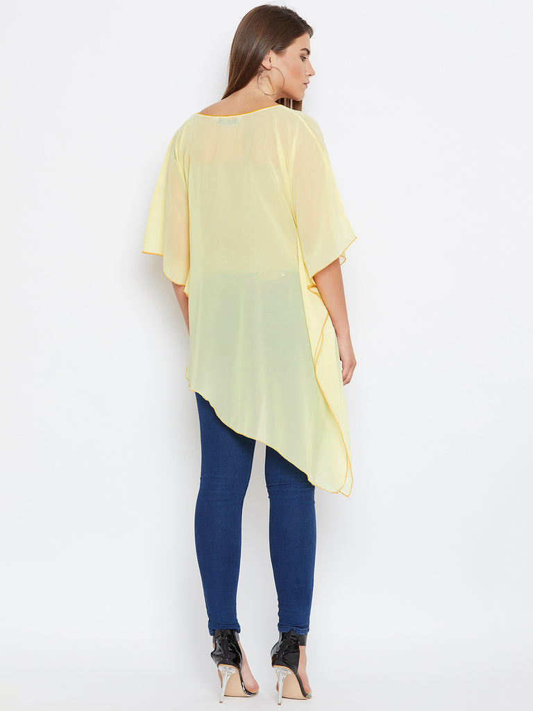 PASTEL SUNSHINE KAFTAN TOP