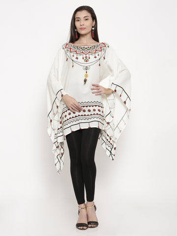 Aztec Jewel Kaftan Top