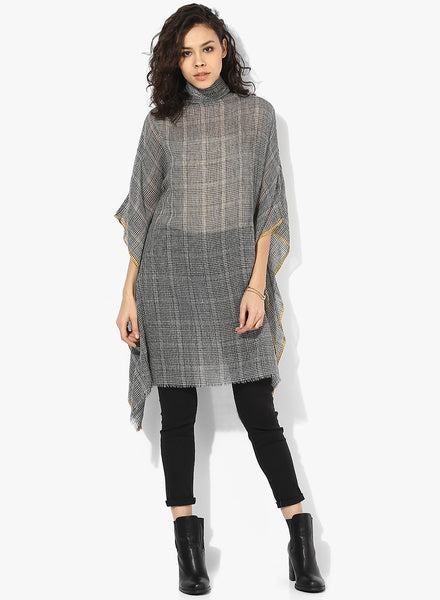 PREMIUM WOOL CHECKS  KAFTAN