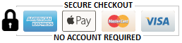 Secure Checkout - No Account Required