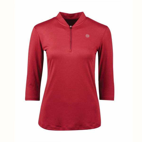 Dublin Sculptor Event Top Maroon