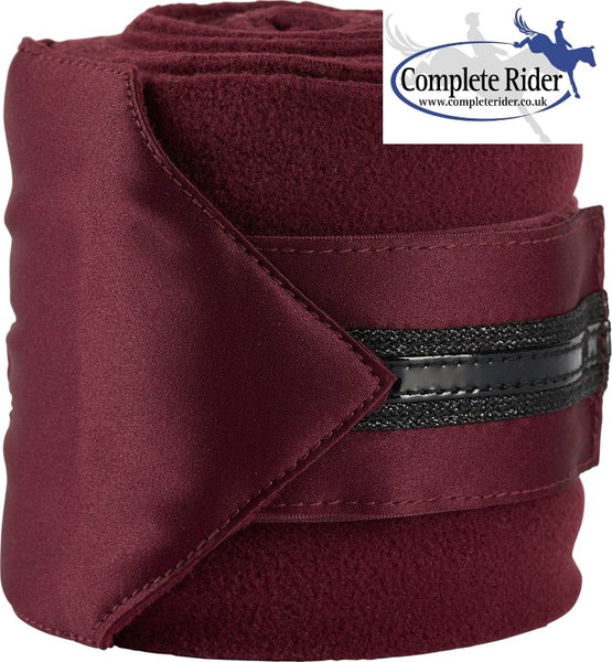 Catago Attitude Fleece Bandages Red