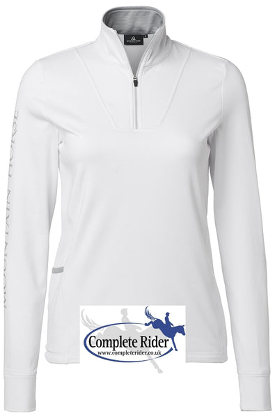 Mountain Horse Champion Tech Top White