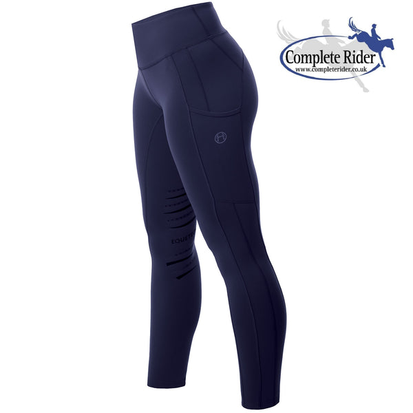 Equetech Winter Riding Tight - Black