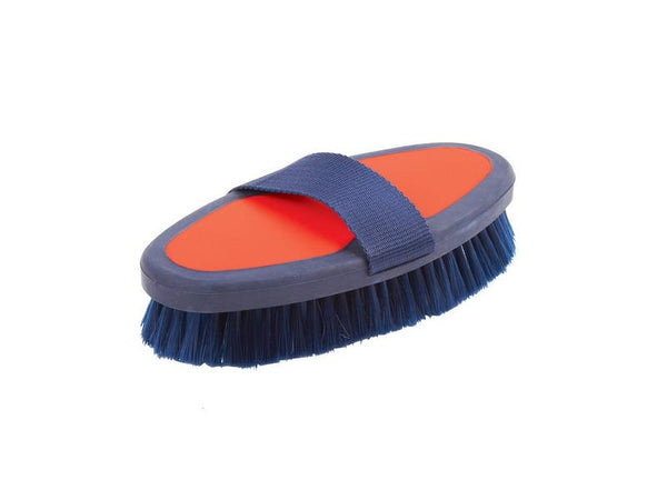 Roma Two Tone Body Brush Red/Navy