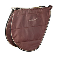 Dublin Imperial Saddle Bag Choco