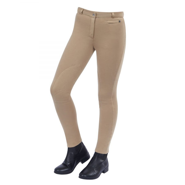 Dublin Supa Fit Zip Knee Beige