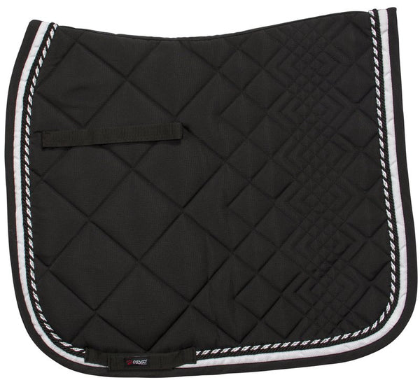 Catago Diamind Dressage Pad Black/White