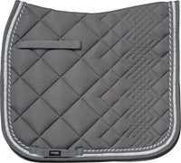 Diamond Dressage Pad Grey