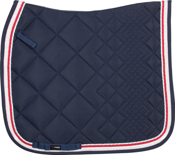 Catago Saddle Pad Navy/Red/White