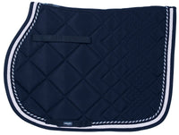 Catago Saddle Pad - Navy/White