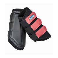 Weatherbeeta Single Lock Brushing Boot Black/Pink