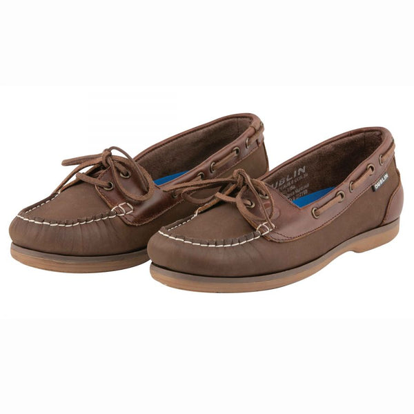 Dublin Milfield Shoe Brown Chestnut