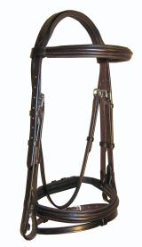 Ascot Comfort Flash Bridle