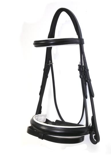Ascot Comfort Piped Dressage Bridle